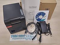 Принтер чеков и этикеток Savio TLP SV-58127U аналог Xprinter XP-233B USB, фото 1