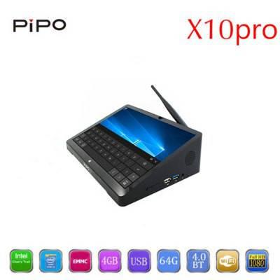 PIPO X10 pro POS терминал сенсорный мини ПК 10.8 Win10/Android 5.1 64 Гб SSD