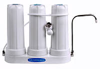 Бытовой фильтр 3-х колбовый настольный GL-T(10-3)