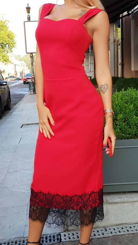 Классическое женское платье футляр.