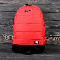 Рюкзак NIKE AIR (НАЙК) Спортивный Портфель, Ранец, Сумка! Качество! Красный!