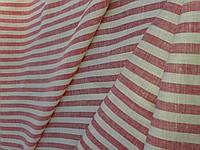 Білий Льон в червону смужку, фото 1