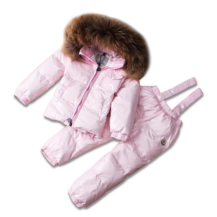 Детский зимний комплект Sabbi нежно-розовый