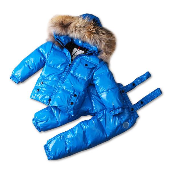 Детский зимний комплект Sabbi синий глянец