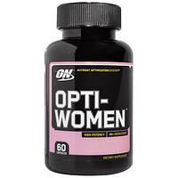 Витамины для женщин, 60 капсул Opti-Women, Optimum Nutrition