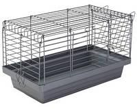 Природа Клетка «Кролик 50» для крупных декоративных грызунов хром 50х27х30 см