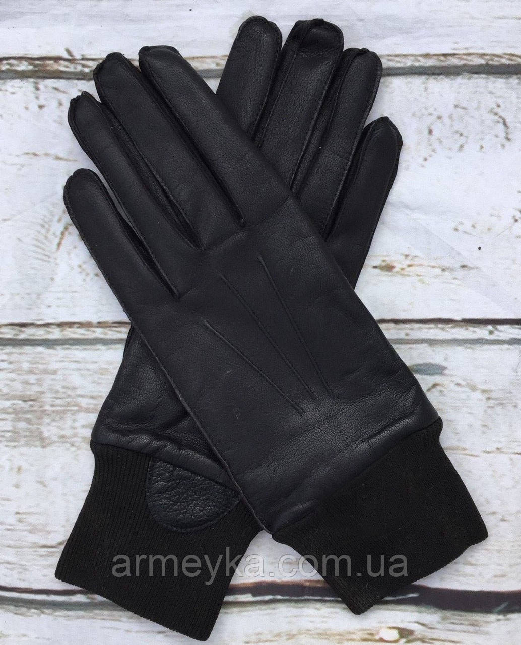 Зимние перчатки с подкладкой, черные. Великобритания, оригинал.