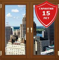 Энергосберегающие окна Rehau в Киеве. Производство окон, балконов на заказ.