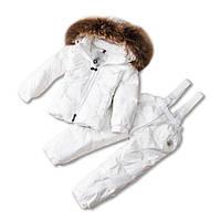 Детский зимний комплект белый Sabbi
