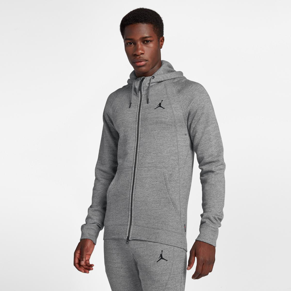 Толстовка Nike Wings Fleece Fz 860196-091 (Оригинал)