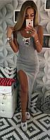 Платье женское со шлейфом  мал157, фото 1