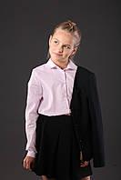 Блуза школьная розового цвета, фото 1