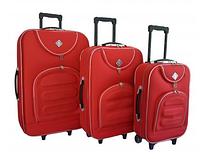 Набор чемоданов Bonro Lux красный (102400)