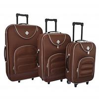 Набор чемоданов Bonro Lux coffee (102401)