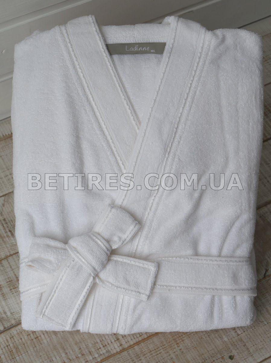 Халат женский LADINNE SANDA WHITE(BEYAZ) белый (размер M/L)