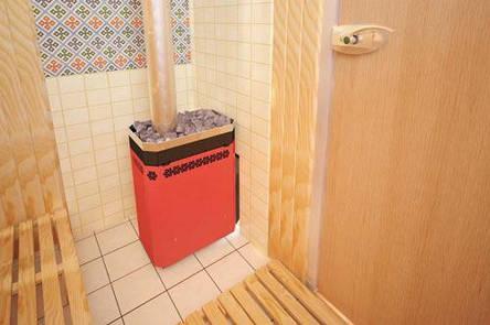 Дровяная печь-каменка для бани Русь 9Л, фото 2