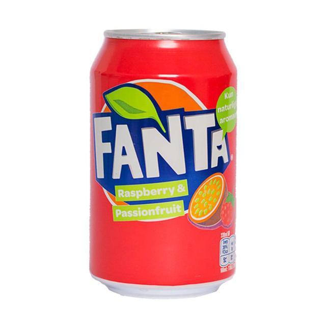 Напиток Fanta малина - маракуйа