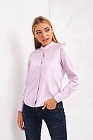 Нежная розовая женская рубашка Морена 2338 M Розовый