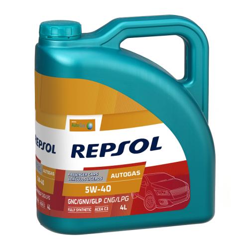REPSOL AUTO GAS 5W-40 4L