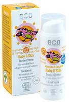 Детский крем для загара SPF 50+ Eco Cosmetics