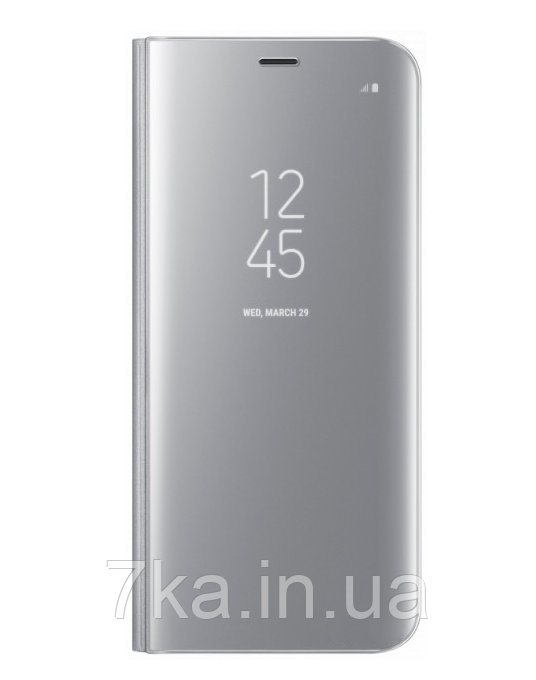 Чехол-книжка Original mirror Samsung Note 9 Silver
