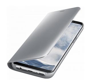 Чехол-книжка Original mirror Samsung Note 9 Silver, фото 2