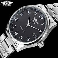 Мужские механические часы Winner Handsome Classic с автоподзаводом