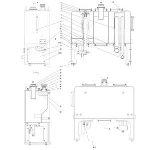 Гидробак в сборе F5-2910000950 | Гидравлическая система фронтального колесного погрузчика SDLG LG936L