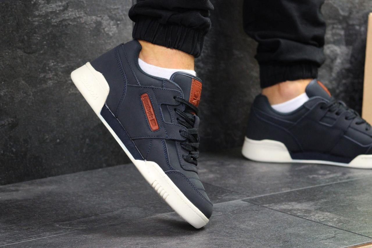 da86346f Мужские кроссовки Reebok Homme Classic молодежные брендовые лучшие 42  размер (синие), ТОП-