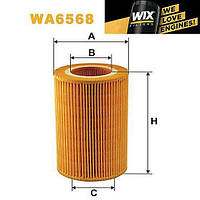 WIX WA6568 Воздушный фильтр на Smart Fortwo / Cabrio / City-Coupe / Forfour / Roadster