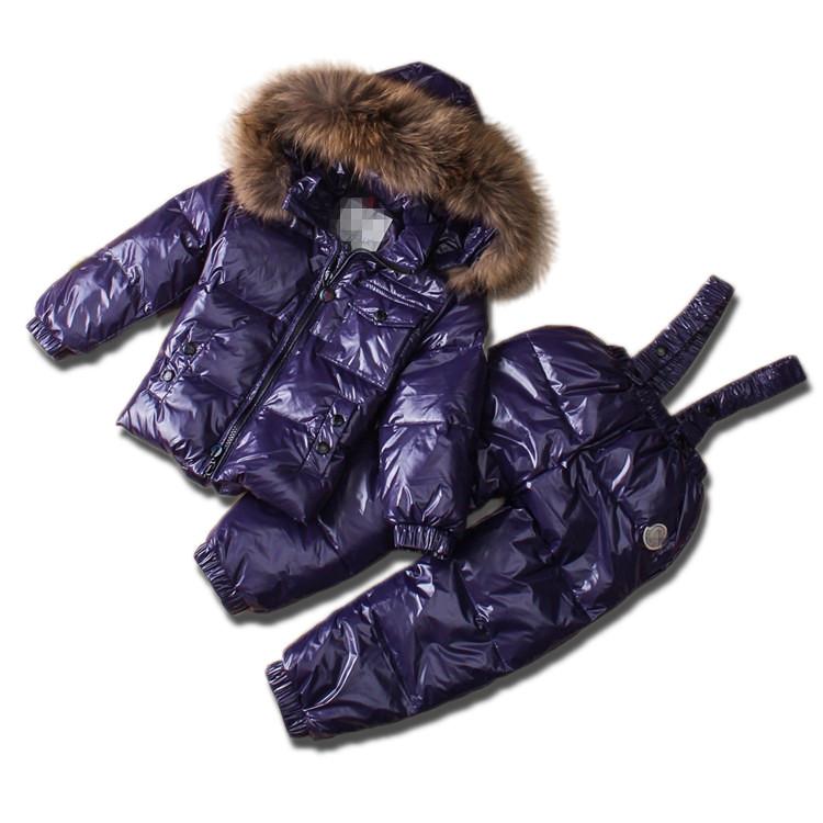 Детский зимний комплект Sabbi фиолетовый металлик
