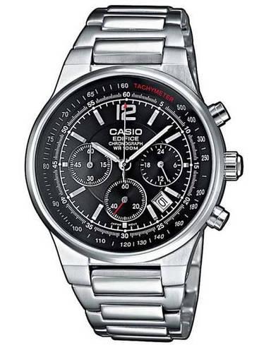 Наручные мужские часы Casio EF-500D-1AVEF оригинал