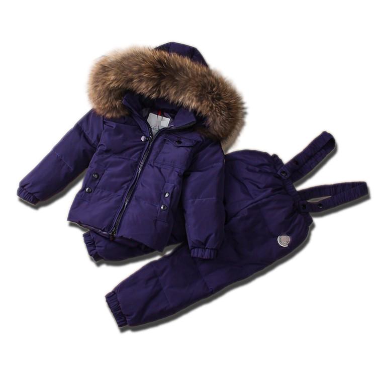 Детский зимний комплект Sabbi фиолетовый