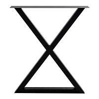 Ножка Песочные часы для стола металлическая