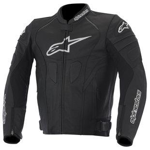 "Куртка Alpinestars GP PLUS  R Perforated (вентилируемая) black кожа ""56"""