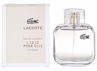 Туалетная вода Lacoste Eau De Lacoste L12.12 Pour Elle Elegant 90ml  реплика