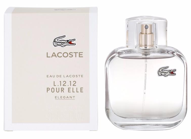 Женская парфюмерия Lacoste Eau De Lacoste L12.12 Pour Elle Elegant 90ml  реплика