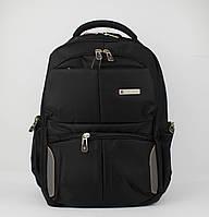 Рюкзак городской Wenger 8617 черный, выход для USB, наушников, отдел под ноутбук, фото 1