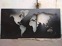 Плазменная резка металла, картина из металла, фото 1