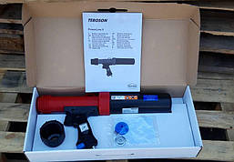 Пневматический пистолет для нанесения герметиков 310 мл Teroson Powerline II Dispenser (960304), фото 2