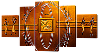 Модульная картин Живопись Древнего Египта, фото 2