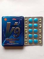"""Таблетки для підвищення потенції Vigra V9 """"Вигра V9"""" (10 табл.)."""