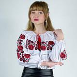 Рубашка вышиванка Шиповник , фото 6