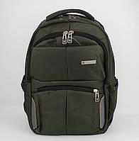 Рюкзак городской Wenger 8617 хаки, выход для USB, наушников, отдел под ноутбук, фото 1