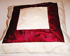 "Подушка ""Буржуа"" (квадрат) 40х40, фото 3"