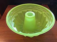 Силиконовая форма для кекса 21 см