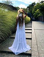 Платье двойка в пол женское МГ509