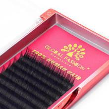 Набор ленточных ресниц Global Fashion 11 мм C 0.07