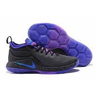 Баскетбольные кроссовки Nike Lebron Witness 2 (черный/фиолетовый)