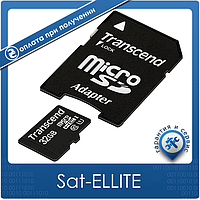 Карта памяти 32GB Class 10 Transcend MicroSDHC